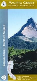 9781593515454: Northern Oregon Pacific Crest Trail Hiking Map