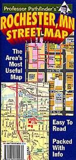 Rochester, MN Street Map: Hedberg Maps Inc