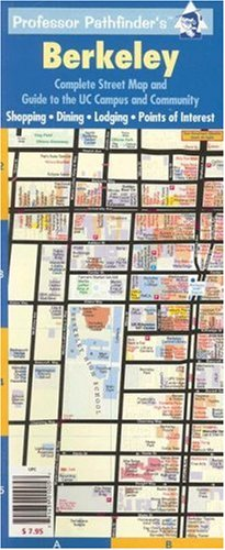 9781593530051: Berkeley: Complete Street Map and UC Campus Guide