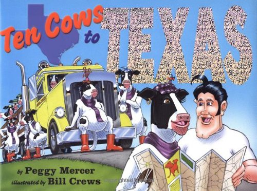 9781593541163: Ten Cows to Texas: Handprint Books