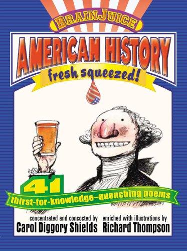 9781593541200: Brainjuice: American History, Fresh Squeezed!: Handprint Books