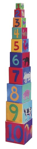 9781593541835: Numbers and Colors Nesting Blocks