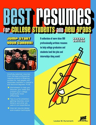 9781593578879 best resumes for college students and new grads