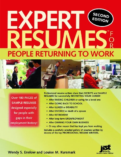 9781593573621: Expert Resumes for People Returning to Work