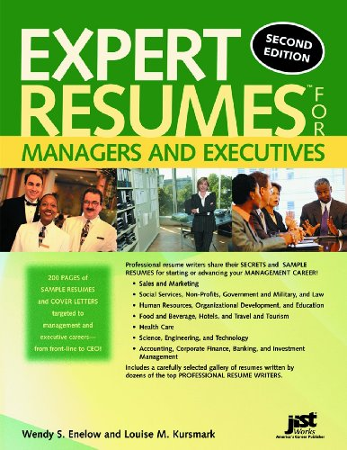 9781593573669: Expert Resumes for Managers And Executives
