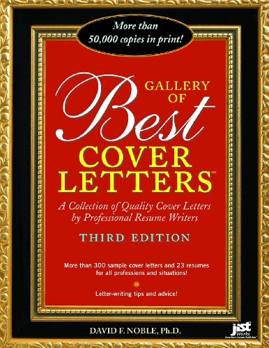 9781593574253: Gallery of Best Cover Letters: Collection of Quality Cover Letters by Professional Resume Writers