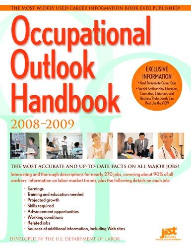 9781593575144: Occupational Outlook Handbook: 2008-2009