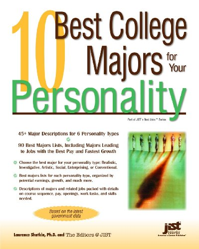 9781593575472: 10 Best College Majors for Your Personality