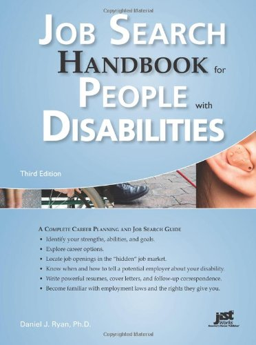 9781593578138: Job Search Handbook for People With Disabilities: A Complete Career Planning and Job Search Guide, 3rd Ed