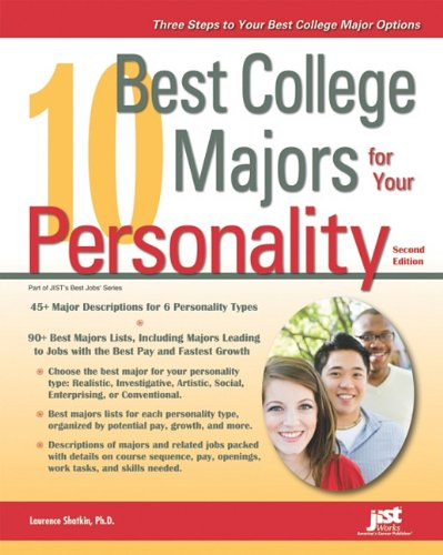 9781593578633: 10 Best College Majors for Your Personality