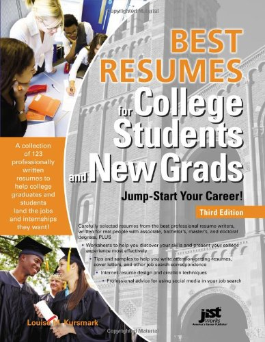 9781593578879: Best Resumes for College Students and New Grads: Jump-Start Your Career!, 3rd Ed (Best Resumes for College Students & New Grads)