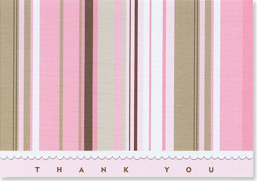 9781593590857: Soho Stripes Thank You Notes (Stationery, Note Cards) (Note Card Series)