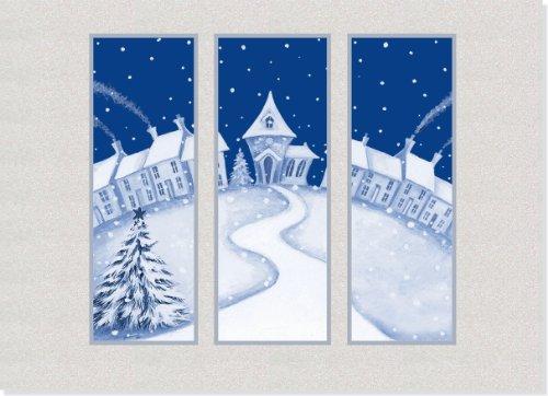 LG CARDS: HAPPY VILLAGE WINDOW: PETER PAUPER PRESS/ INC.
