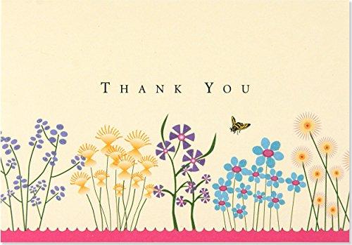 9781593591502: Sparkly Garden Thank You Note Cards