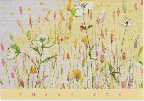 9781593591939: Meadow Flowers Thank You Notes (Stationery, Note Cards)