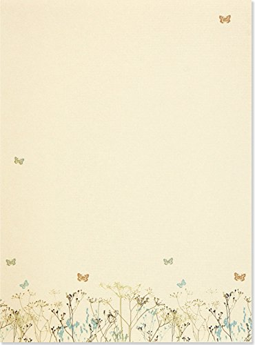 9781593592547: Butterflies (Stationery) (Letter-Perfect Stationery Series)