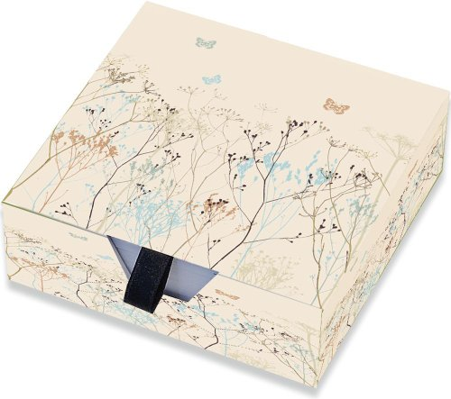9781593592608: Butterflies Boxed Designer Desk Notes (Stationery, Note Pad)