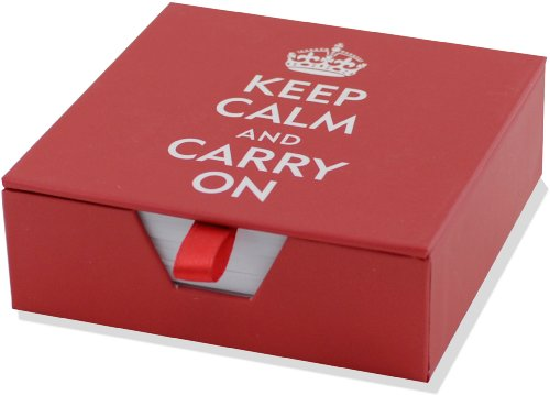 9781593592943: Keep Calm and Carry On Boxed Desk Notes (Stationery, Note Pad)