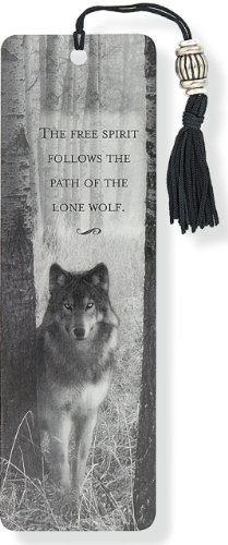 9781593593285: Wolf Beaded Bookmark