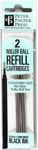 9781593593308: Roller Ball Pen Refill (2-Pack) (Rollerball Pen) (Designer Pens)