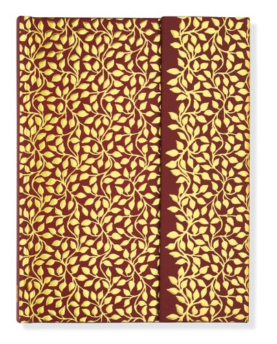 9781593593773: Vines Journal: Embossed With White Foil Design (Full Size Foldover Journals)