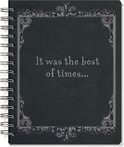 9781593593797: Best of Times/Worst of Times (Reversible Journal) (Diary, Notebook)