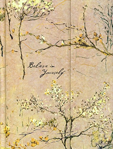 9781593594923: Journal Fold-Over Believe in Yourself Beige