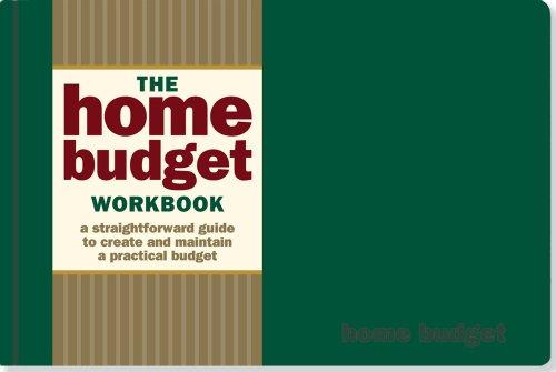 9781593596491: The Home Budget Workbook (Guidebook, Organizer)