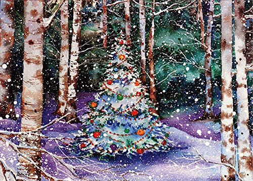 9781593597030: Festive Forest (Deluxe Boxed Holiday Cards)