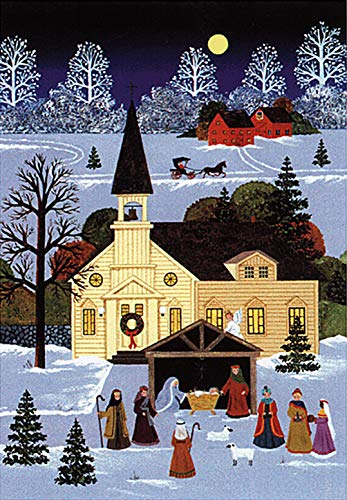 9781593597238: Country Nativity Holiday Boxed Cards (Christmas Cards, Holiday Cards, Greeting Cards) (Small Holiday Card)
