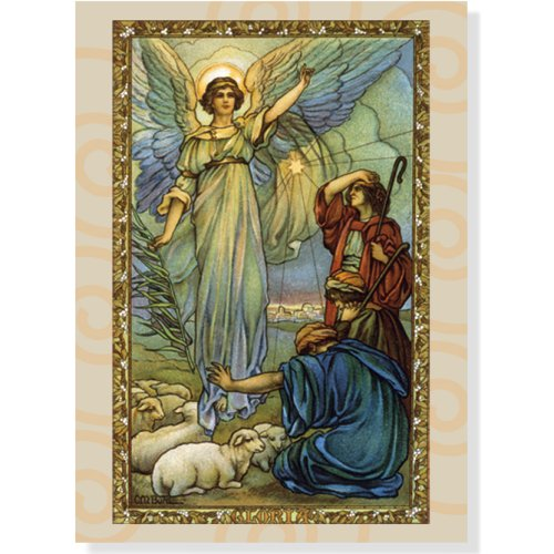 9781593597573: Gloria Deluxe Holiday Boxed Cards (Christmas Cards, Holiday Cards, Greeting Cards)