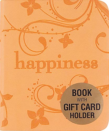 9781593597757: Happiness (Mini Book, Gift Card Holder)