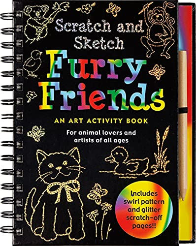 9781593597788: Scratch and Sketch Furry Friends: An Art Activity Book for Animal Lovers and Artists of All Ages (Scratch & Sketch)