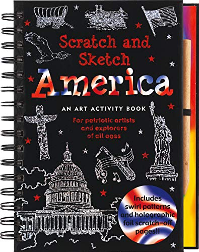 9781593598020: America Scratch and Sketch: An Art Activity Book for Adventurous Artists and Explorers of All Ages (Scratch & Sketch)