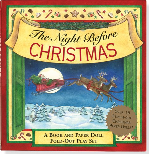 The Night Before Christmas: A Book and: Clement Clarke Moore