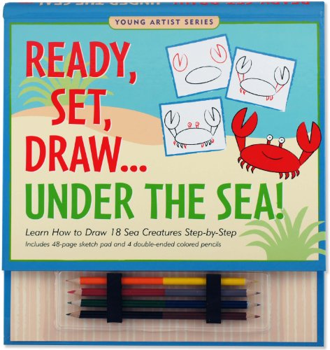 9781593598372: Ready, Set, Draw Under the Sea! (Young Artist)