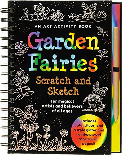 9781593598709: Garden Fairies Scratch and Sketch: An Art Activity for Magical Artists and Believers of All Ages (Scratch & Sketch)