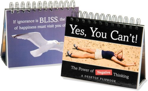 YES, YOU CAN'T!: The Power of Negative Thinking (Flipbook) - Cullen, Ruth