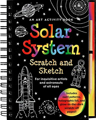 9781593599171: Solar System Scratch and Sketch: An Activity Book For Inquisitive Artists and Astronauts of All Ages