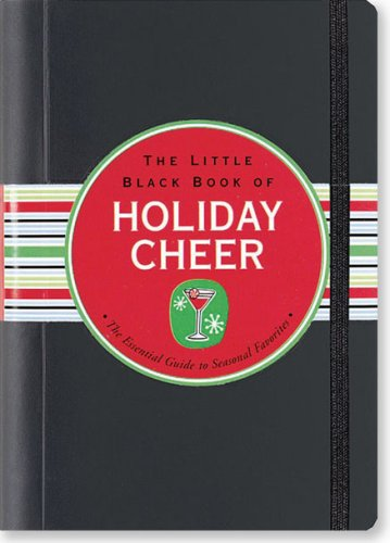 9781593599966: The Little Black Book of Holiday Cheer (Little Black Books)