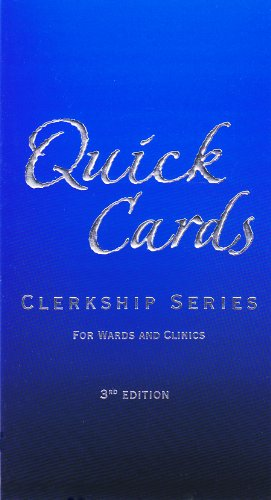 9781593610081: Quick Cards - Clerkship Series (Clerkship)