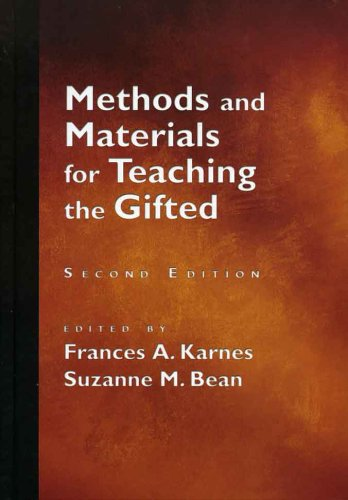 9781593630225: Methods And Materials For Teaching The Gifted