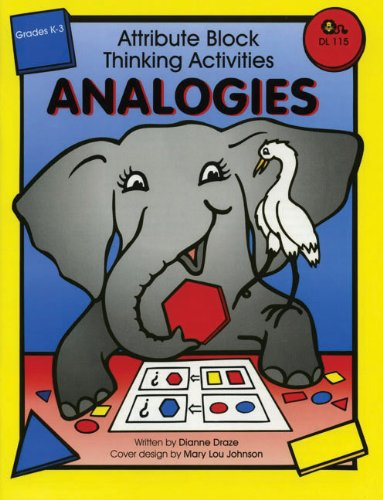 9781593630522: Attribute Block Thinking Activities: Analogies, Grades K-3