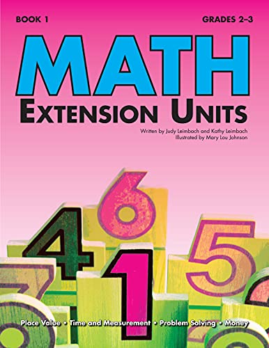 9781593630997: Math Extension Units (Book 1)