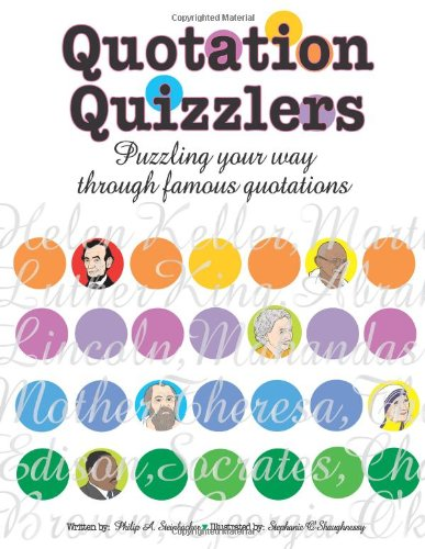 9781593631017: Quotation Quizzlers: Puzzling Your Way Through Famous Quotations