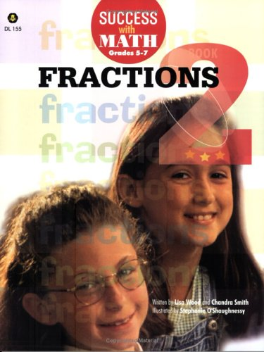Success With Math Fractions: Book 2: Wood, Lisa