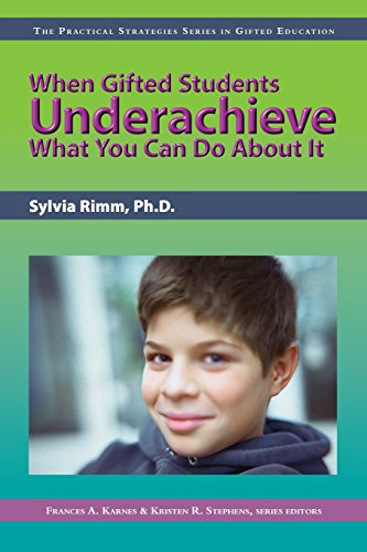9781593631932: When Gifted Students Underachieve (Practical Strategies in Gifted Education)