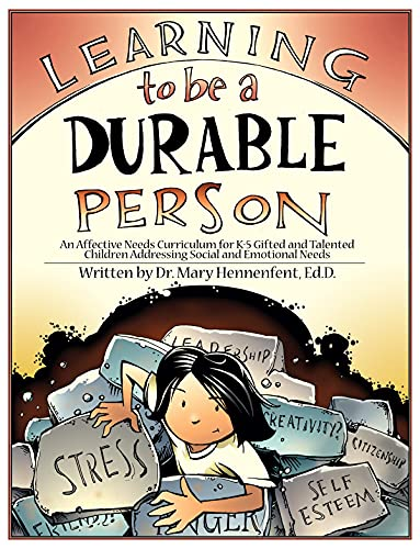 9781593632397: Learning to Be a Durable Person: Social and Emotional Activities and Teacher Guide