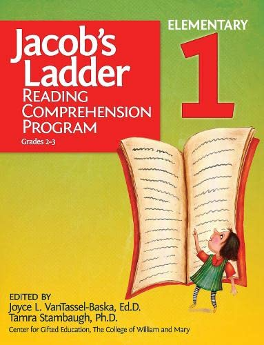 Jacob's Ladder Reading Comprehension Program - Level 1: VanTassel-Baska Ed.D., Joyce; Center ...