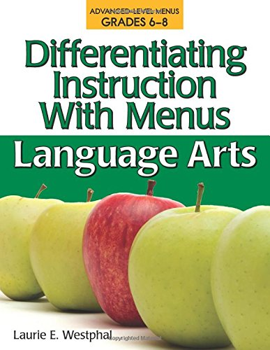 9781593633660: Differentiating Instruction with Menus: Language Arts (Grades 6-8)